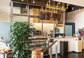 金山南ビル1F「ボストンカフェ」
