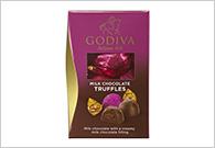 【冬チョコ】GODIVAのトリュフチョコレート付き